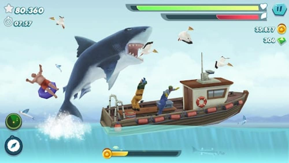 Hungry Shark Evolution - Offline survival game, Android Tablet games