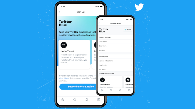 sign up twitter blue
