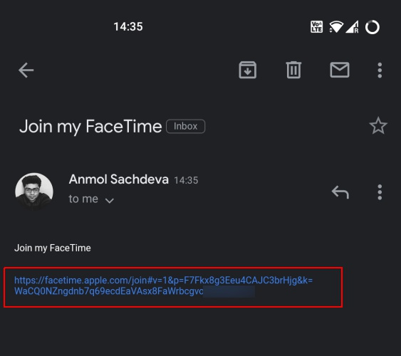 how to use facetime on android 1