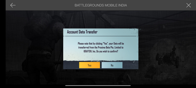 pubg mobile email access